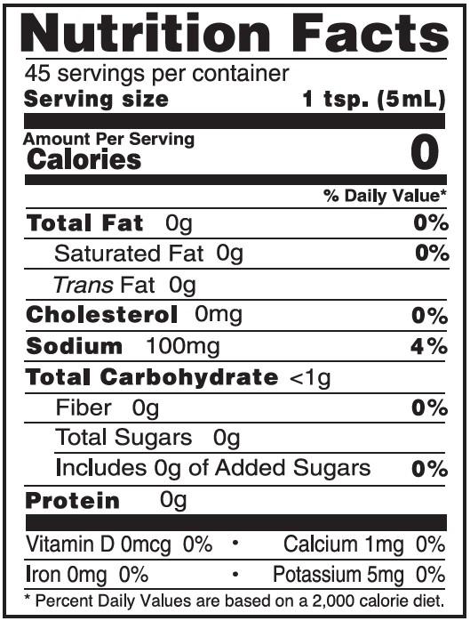 NutritionPanel_BuffaloSandwichSauce_8oz