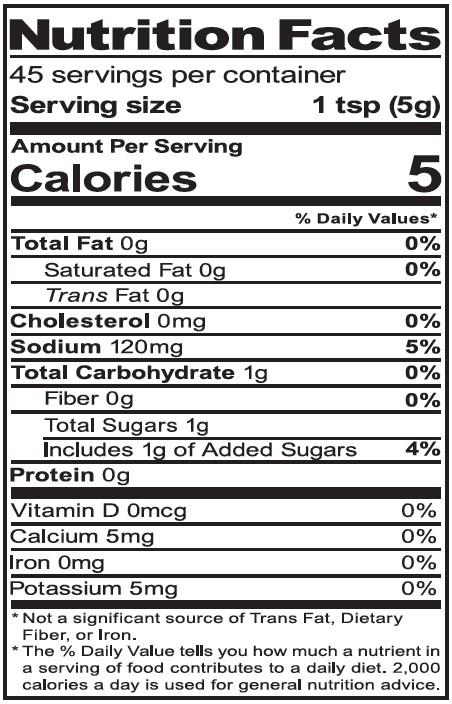 NutritionPanel_DeliMustard_8oz