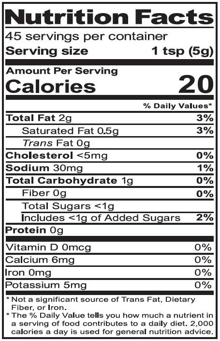 NutritionPanel_HorseRadish_8oz