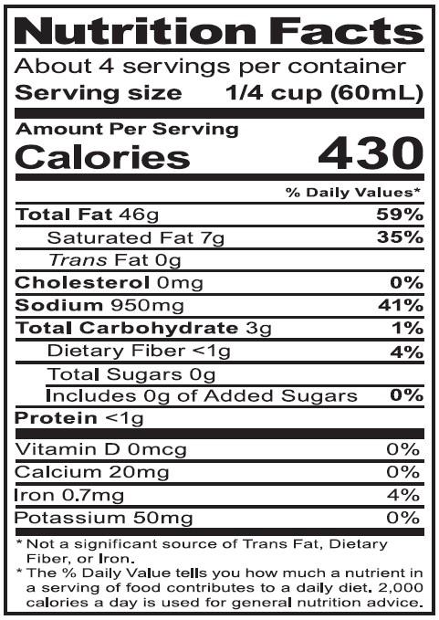 NutritionPanel_WPSOregano_8oz