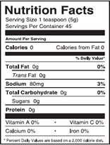 NutritionPanel_JalapenoMustard_8oz