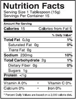 NutritionPanel_PeachHabanera_8oz