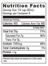 NutritionPanel_WPSBasil_8oz