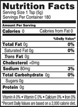 NutritionPanel_YellowMustard_32oz