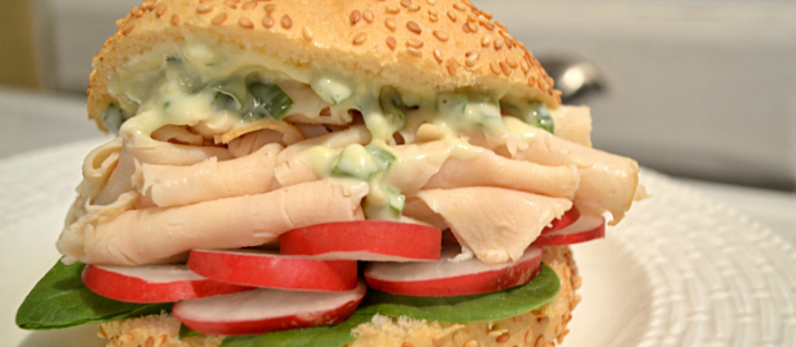 Recipe Oriental Chicken Sandwich