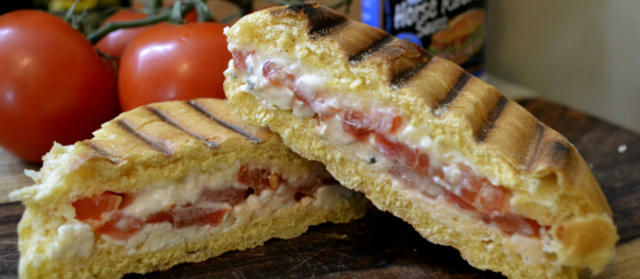 Recipe Red, White, and Bleu Sandwich