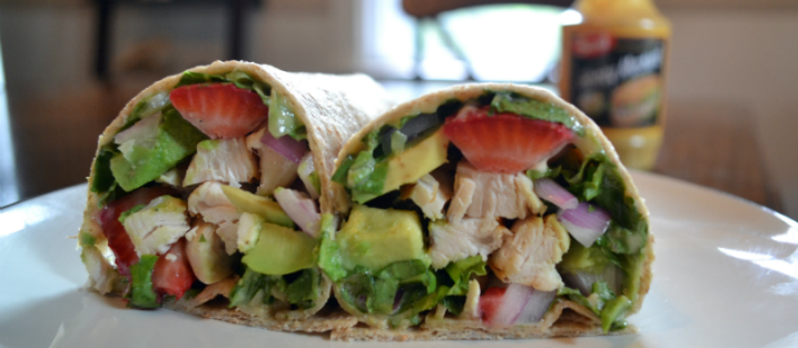 Recipe Honey Mustard Chicken Wrap