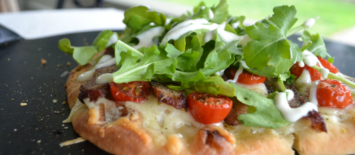 Steak and White Cheddar Flatbread