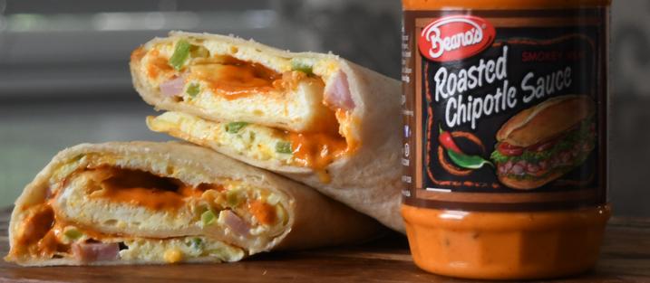 Beano's Omelet Burrito